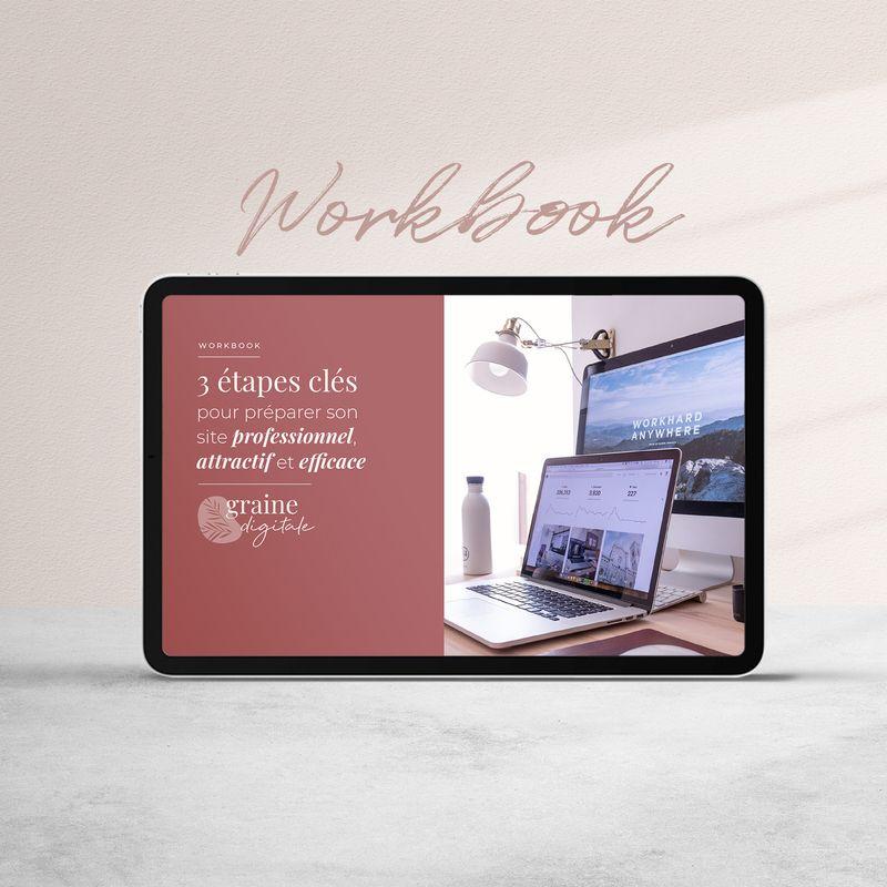Workbook : Préparer son projet de site professionnel